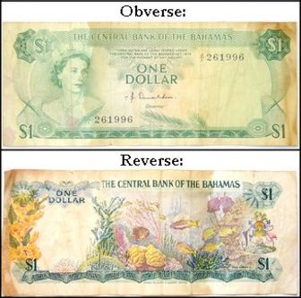 The Currency Name Of Bahamas Is Bahamian Dollar