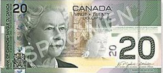 Currency Of Canada List Names