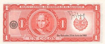 El Salvador Currency