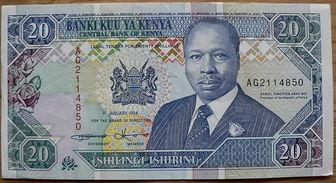 The Currency Name Of Kenya Is Kenyan Shilling
