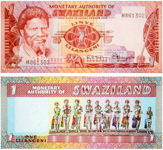 The Lilangeni Introduced In 1974 Is Official Currency Of South African Nation Swaziland It Would Be Hard To Understand Without
