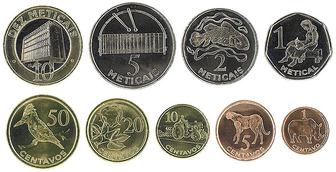 The Currency Name Of Mozambique Is Metical